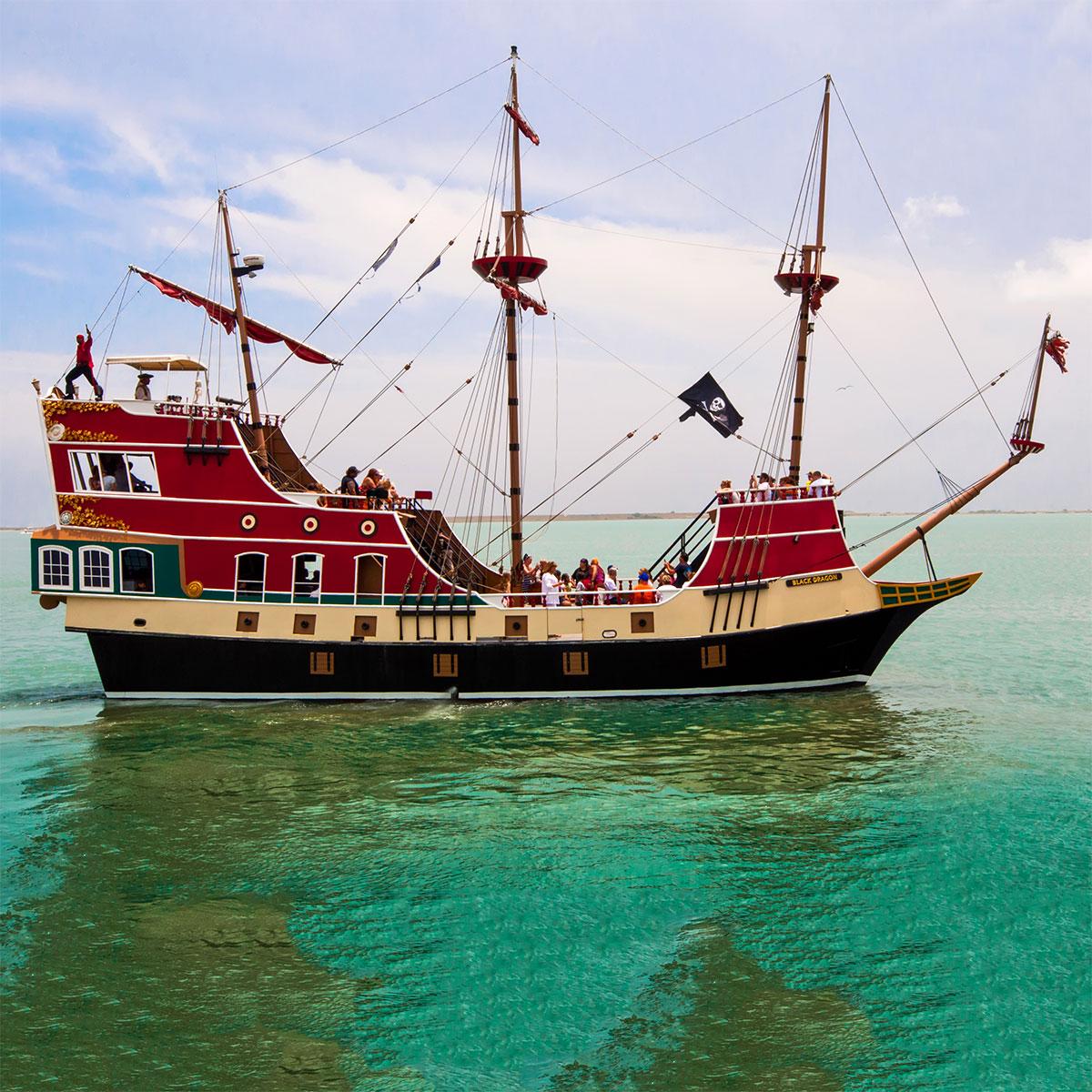 South Padre Island Cruises South Padre Island Cruises Osprey - Pirate ship cruise